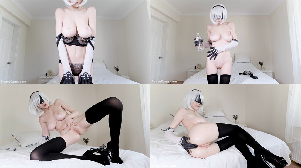 ManyVids – FirtsBornUnicorn - 2B Oiling & Fingering Herself - PREMIUM VIDEO - HD